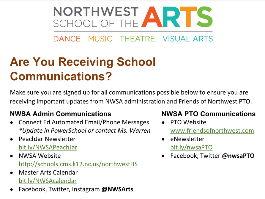 Are You Receiving School Communications?
