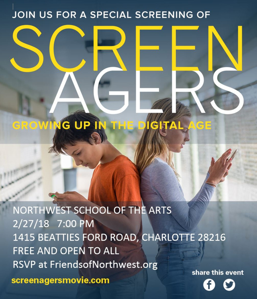 RSVP to See Screenagers Movie at NWSA