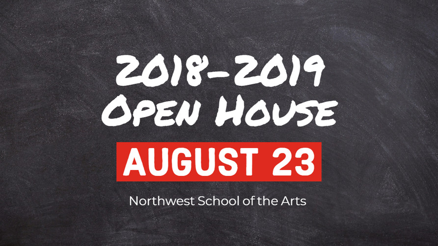 Mark Your Calendars for Open House