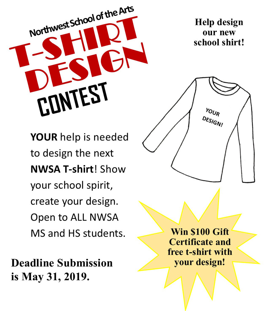 NWSA Student T-Shirt Design Contest!
