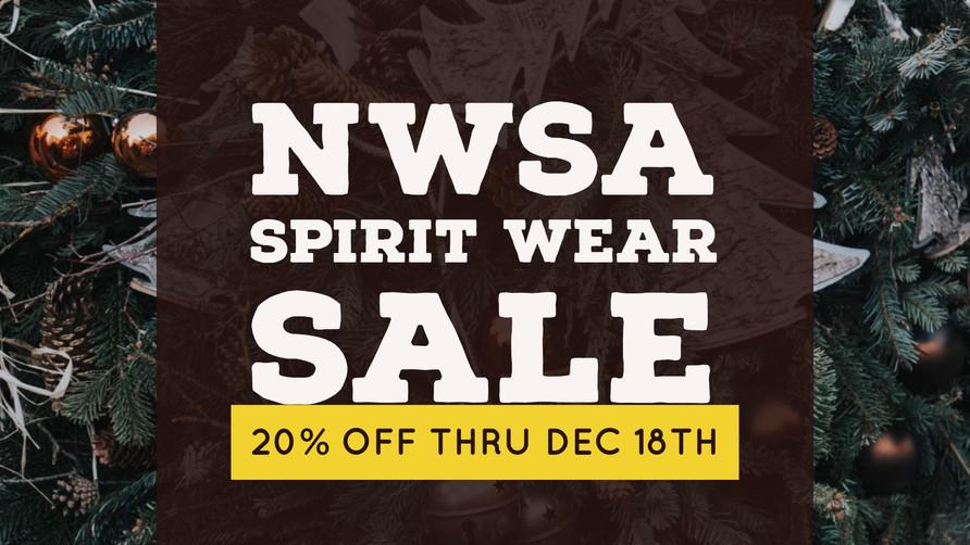 Spirit Wear Holiday Sale