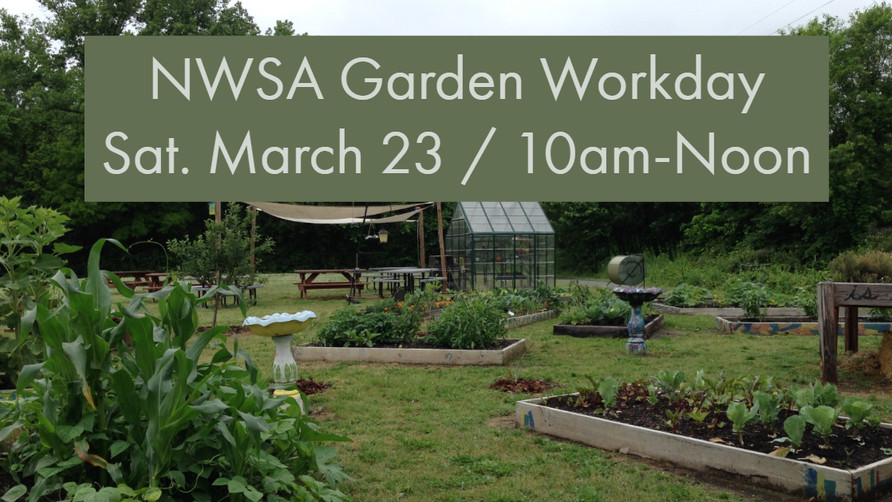 NWSA Garden Workday March 23