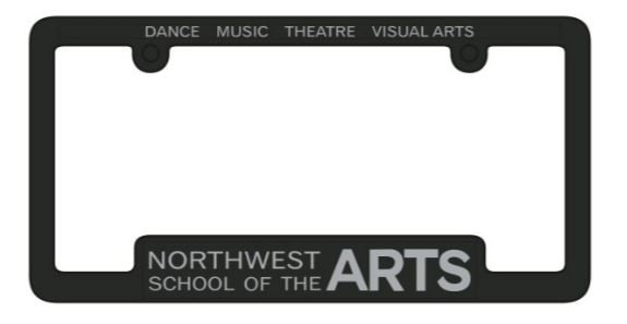NWSA License Plate Cover