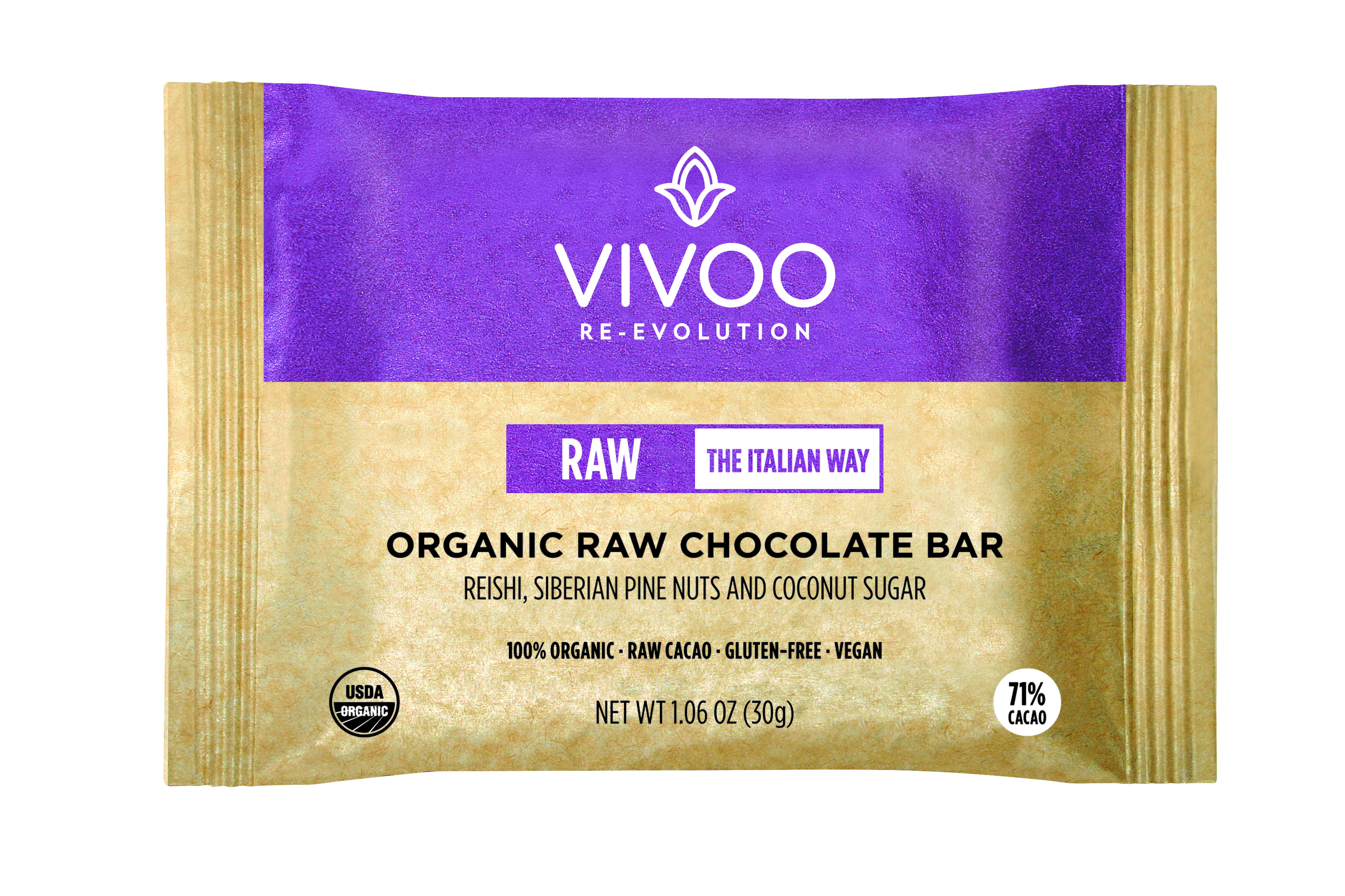 Organic raw chocolate - Reishi