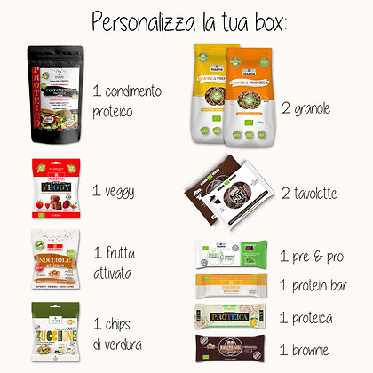 ALL WEEK LONG - personalizza la tua box