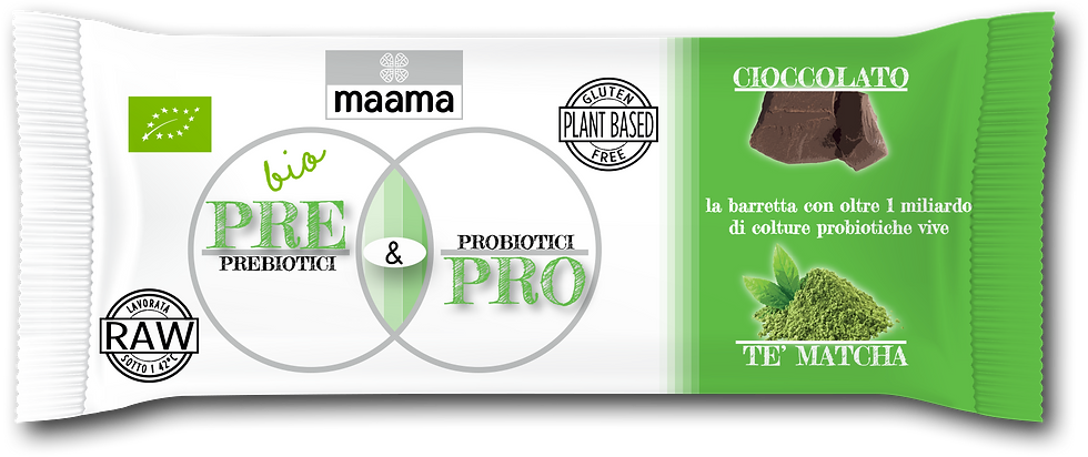 Barretta Pre&Pro - CIOCCOLATO E TÈ MATCHA