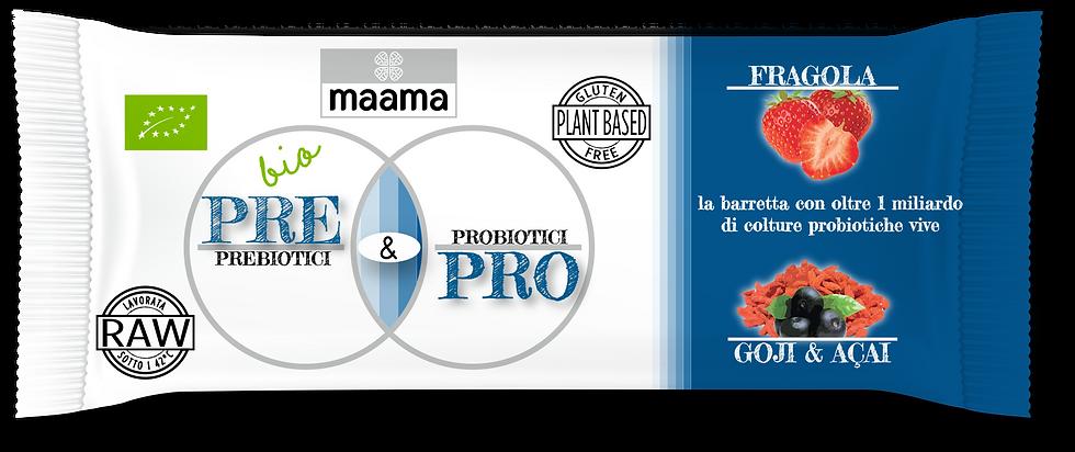 Barretta Pre&Pro - FRAGOLA, GOJI & AÇAI