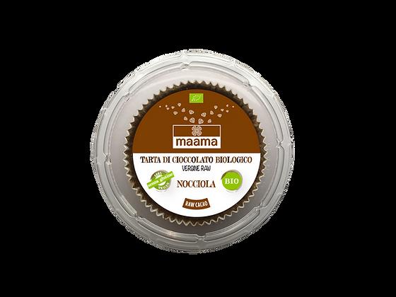 Tarta di cioccolato vergine raw - nocciola