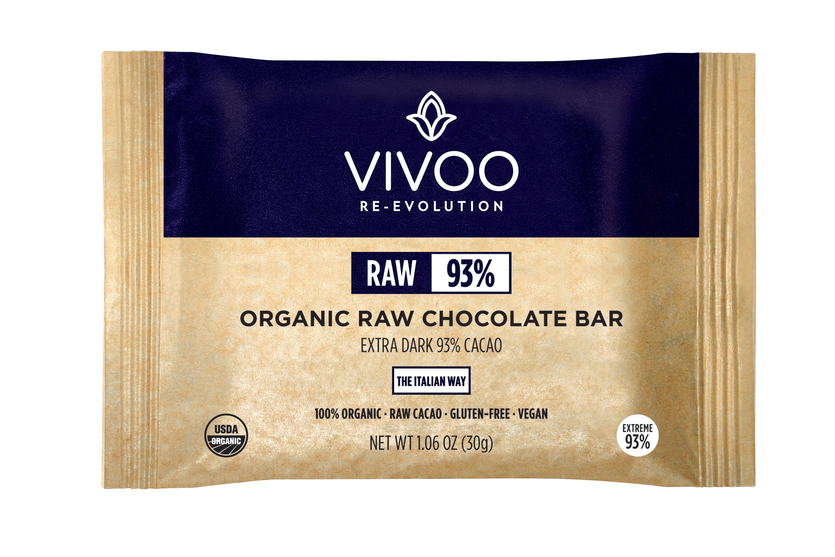 Organic raw chocolate - dark 93%