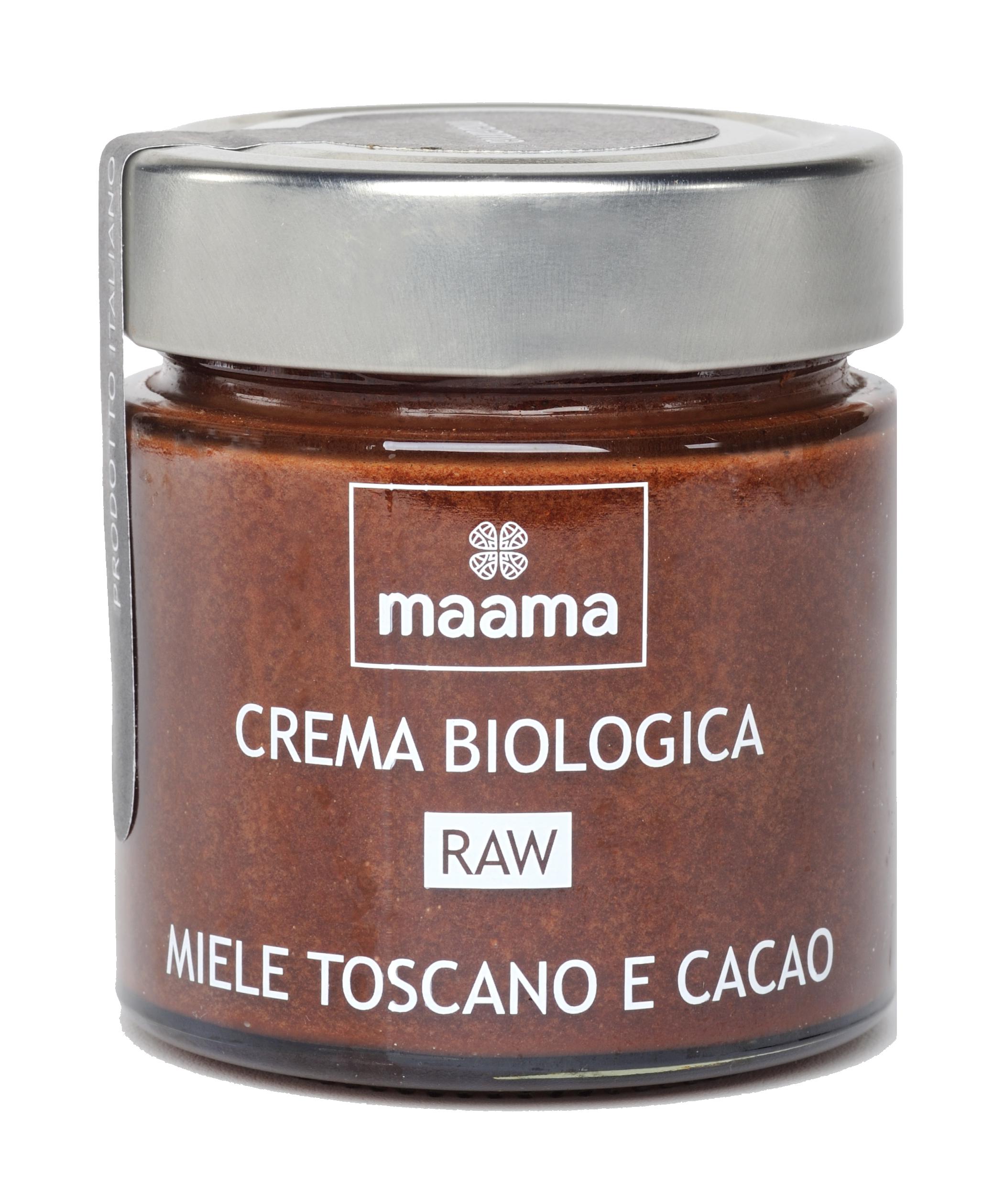 Crema biologica miele e cacao