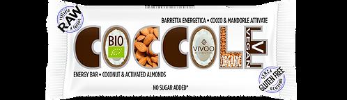Energy bar con cocco e mandorle attivate