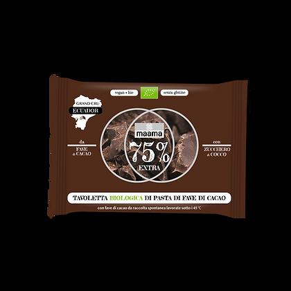 Tavoletta Biologica di pasta di fave cacao