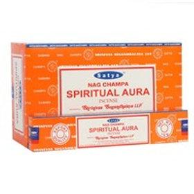 Satya Spiritual Aura Incense.