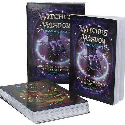Witches Wisdom Oracle Cards.