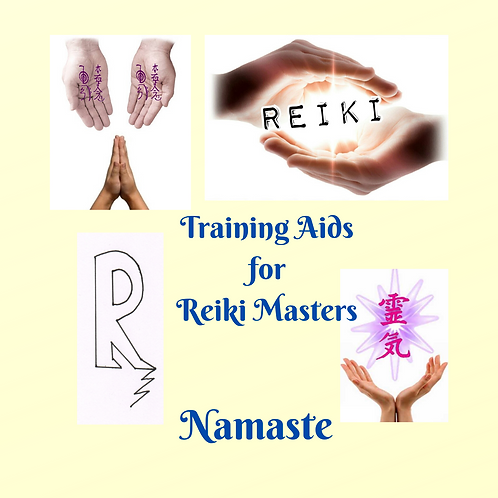 Training Aid for Reiki Masters-MRR Package - 15% off