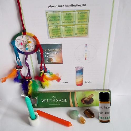 Attracting (or Improving) Abundance - Manifesting Kit