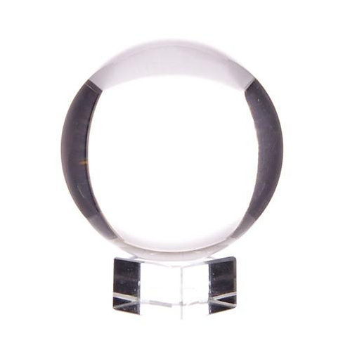 Large Crystal Ball on a Stand 110 mm