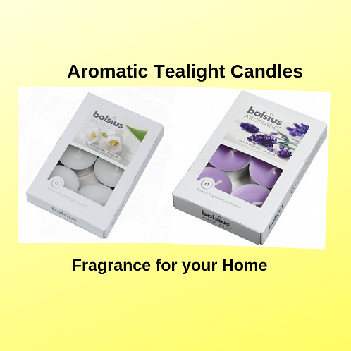 Aromatic Tealight Candles
