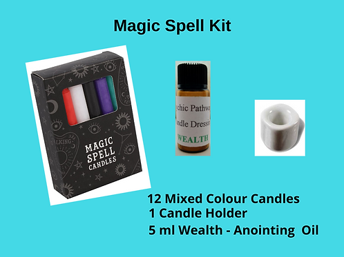 Candle Magic Spell Kit