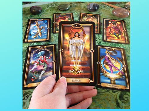 Learn to Read the Tarot - All Materials Printed, Bound, Laminated