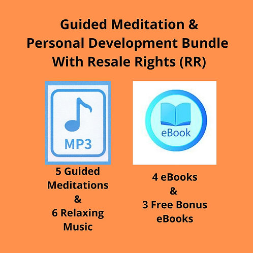 Guided Meditation & Personal Development Bundle with Resale Rights