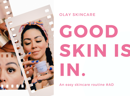 Good skin is in with Olay