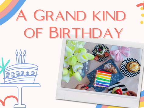 A grand kind of birthday