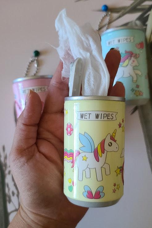 Keychain Wet wipe holder ( 4 prints)
