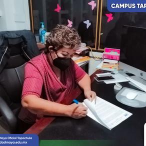 """UM Campus Tapachula firma convenio con la asociación """"POR LA SUPERACIÓN DE LA MUJER A. C."""""""