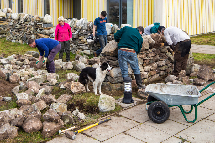 Drystone walling course - Duthchas 2018_