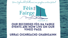 'Fèis na Fairge' closes on a high! See event recordings here