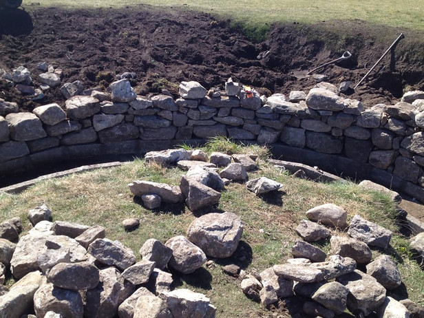 DRYSTONE WALL COURSE SUCCESS