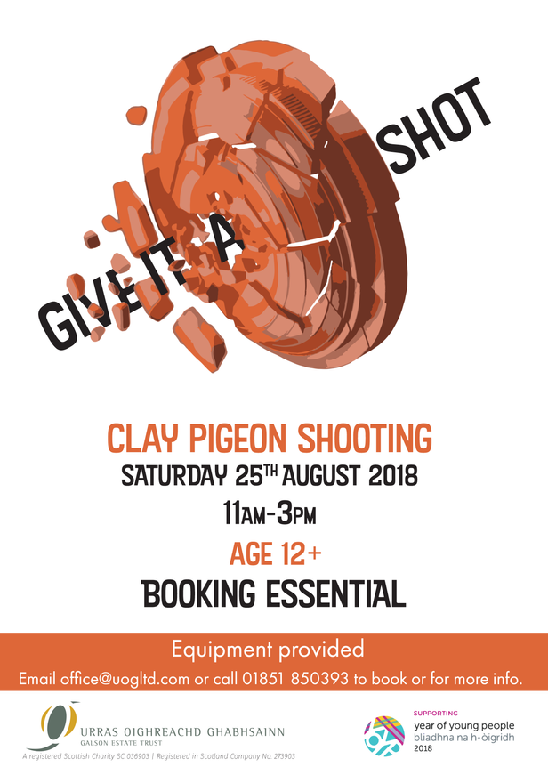 GIVE IT A SHOT - CLAY PIGEON SHOOTING