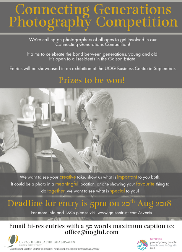 CONNECTING GENERATIONS PHOTOGRAPHY COMPETITION LAUNCH