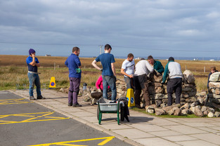 Drystone walling course - Duthchas 2018.