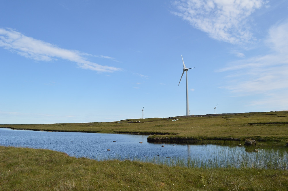 UOG's three turbines at Baile an Truiseil