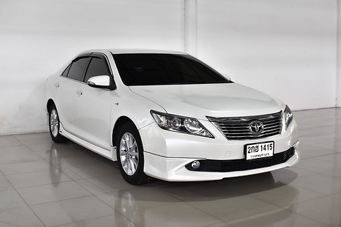 TOYOTA CAMRY 2.0 G A/T EXTREMO 2014 WHITE