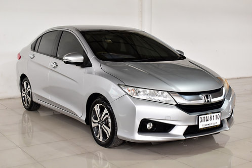 HONDA CITY 1.5 SV A/T 2014 GREY 3กน-8110