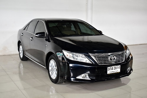 TOYOTA CAMRY 2.0 G A/T 2014 BLACK 3กล-2814