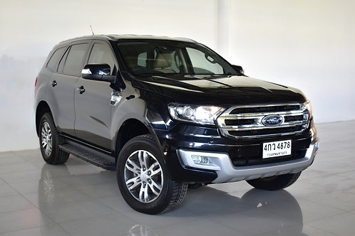 FORD EVEREST 3.2 TITANIUM PLUS 4WD 2015 BLACK