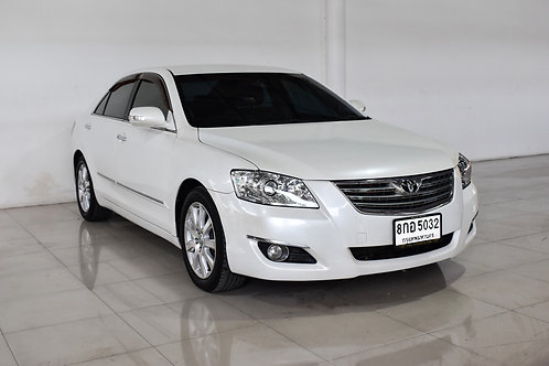 TOYOTA CAMRY 2.4 V A/T 2009 WHITE 8กอ-5032
