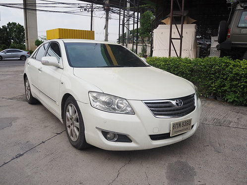 TOYOTA CAMRY 2.4V A/T 2008 WHITE 6กพ-8393