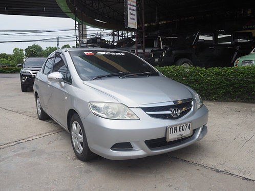 HONDA CITY 1.5 A ZX A/T 2008 GREY กต-6074