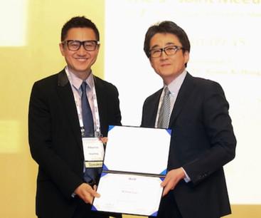 Certificate of Appreciation as Speaker Asian Lingual Orthodontics Meeting