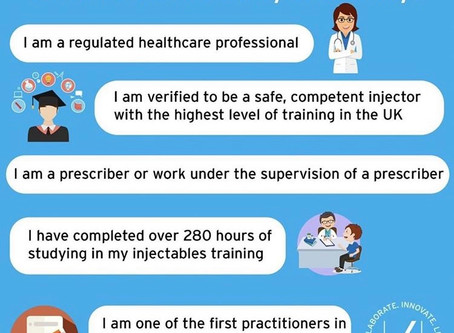 What qualifications should your Aesthetic Practitioner have?