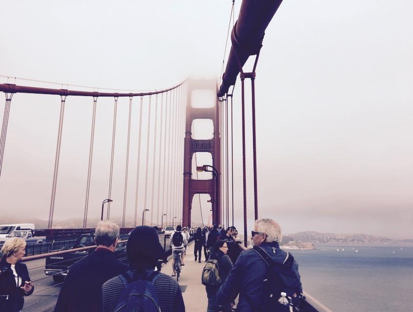 Walking on the Golden Gate