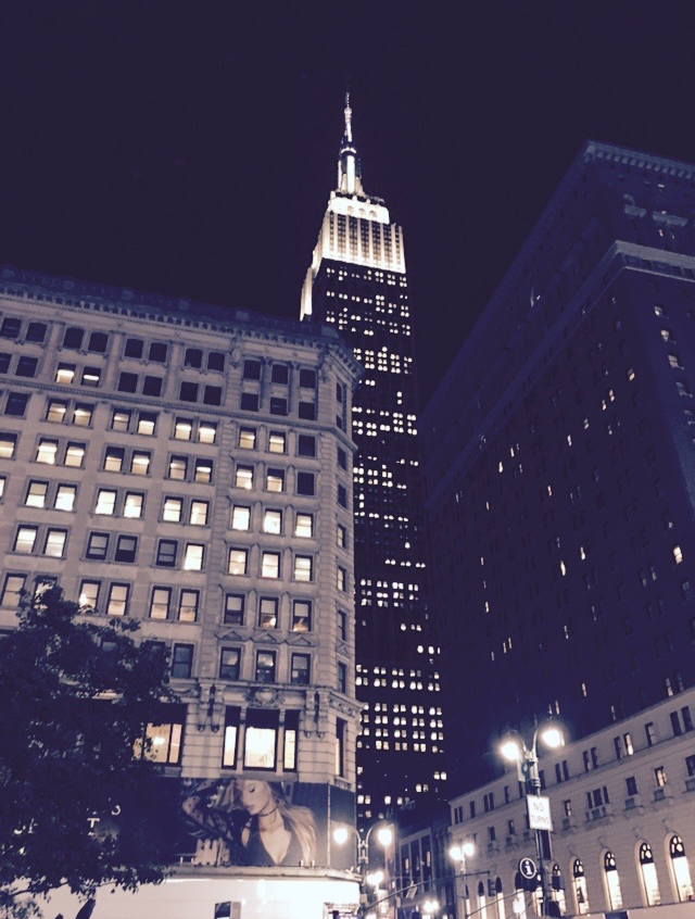 Empire State in the Night