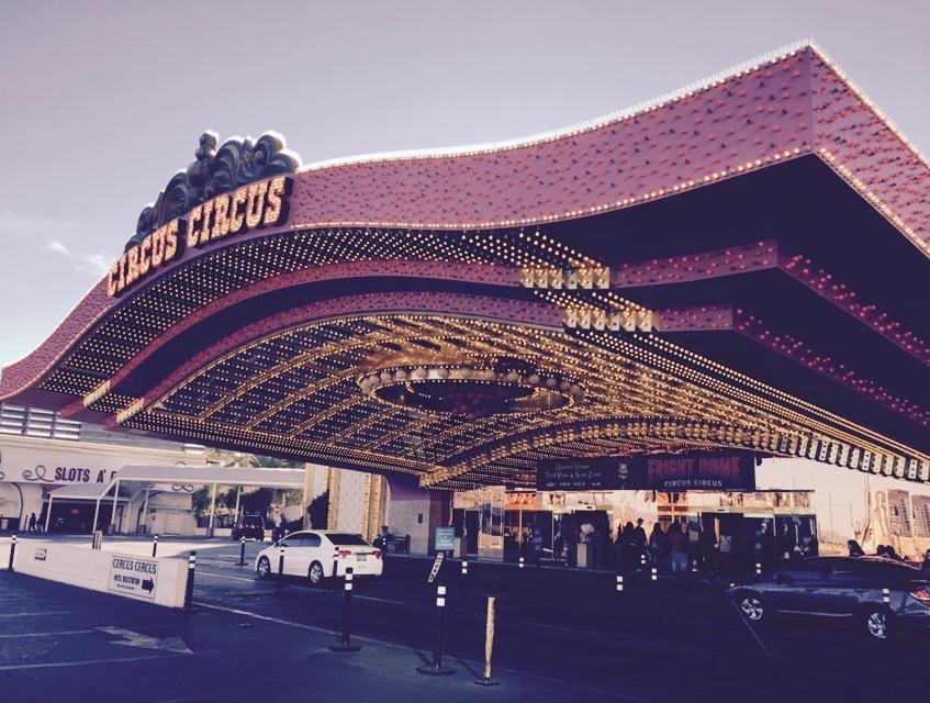 Circus Circus in Vegas