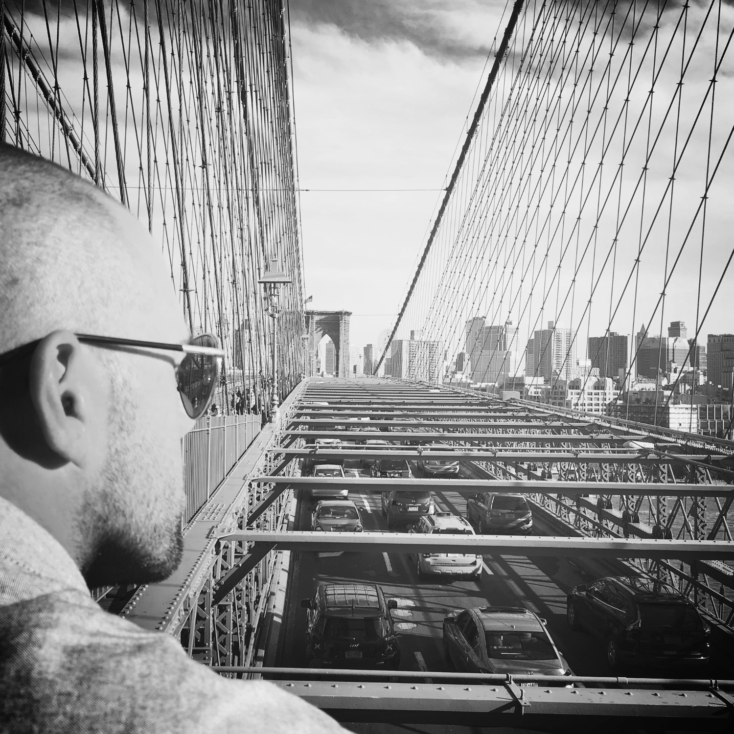 Dreaming on the Brooklyn Bridge