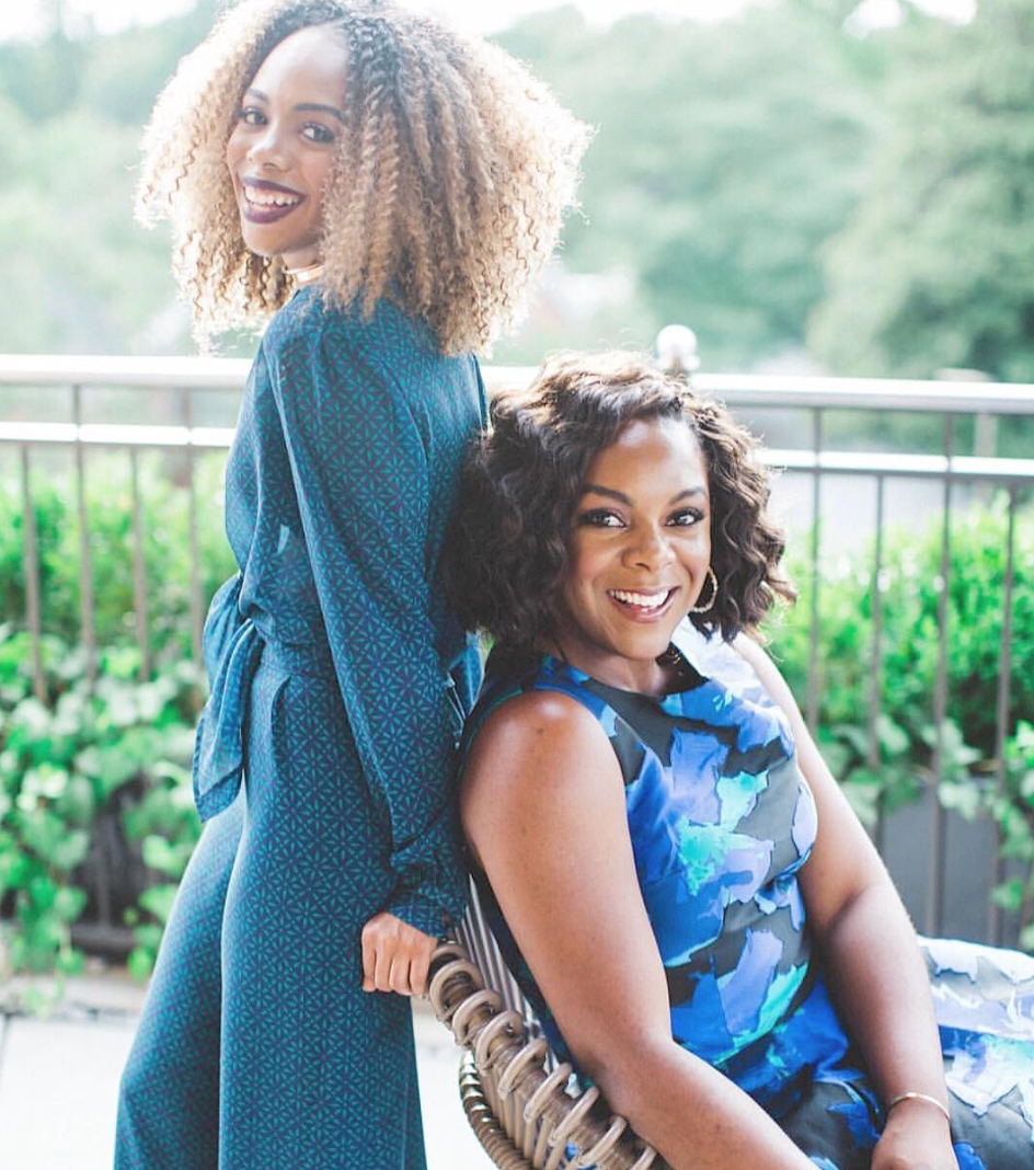 Tavia Forbes (left) and Monet Masters (right)